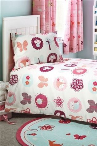 Girls Duvet Cover   Buy Woodland Toddler Bed Set From The Next UK Online  Shop | Girls Bedroom   Woodland Themed | Pinterest | Uk Online, Toddler Bed  And Bed ...