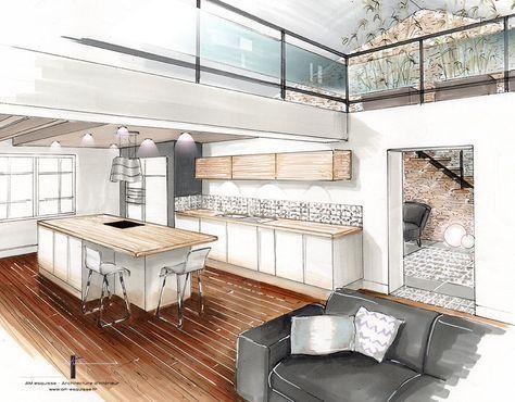 Sketch Up Interior Design Render Sketch Up Interior Design Sketch Up Interior Design Sketch Up Interior De In 2020 Architektur Innenarchitektur Innenarchitektur