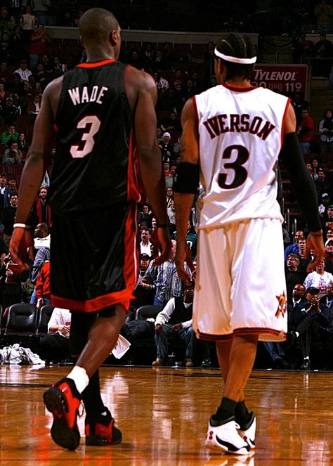 Epic Duels 2005: Iverson (38pts/16asts) vs Dwyane Wade (48pts/10rebs)