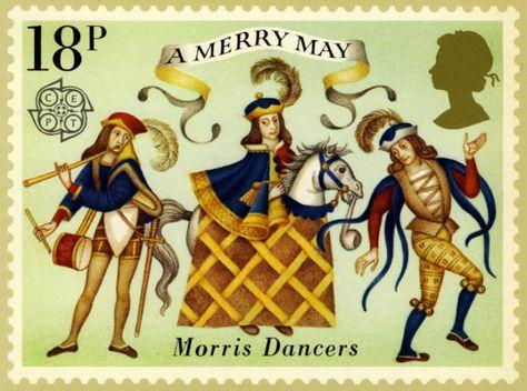 Medieval mummers, May Day and Lammastide