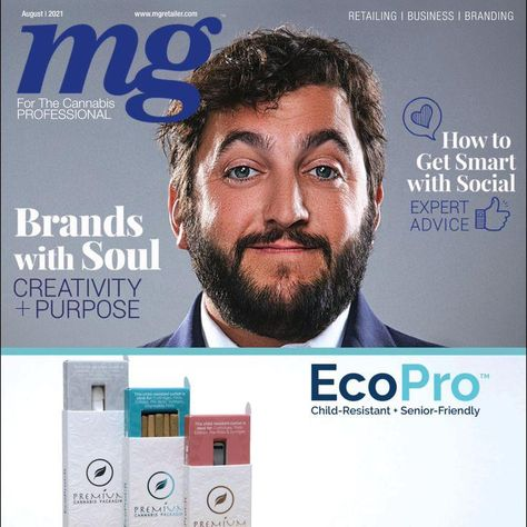 PufCreativ CEO Featured In MG Magazine