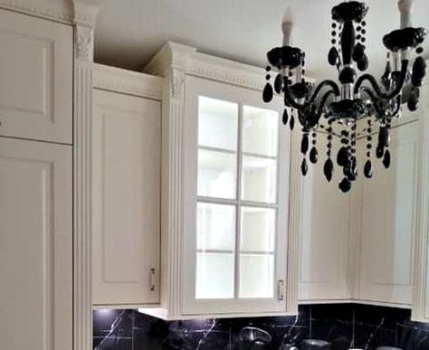 Pilastry Listwy Dekoracyjne Home Decor Decor Kitchen Cabinets