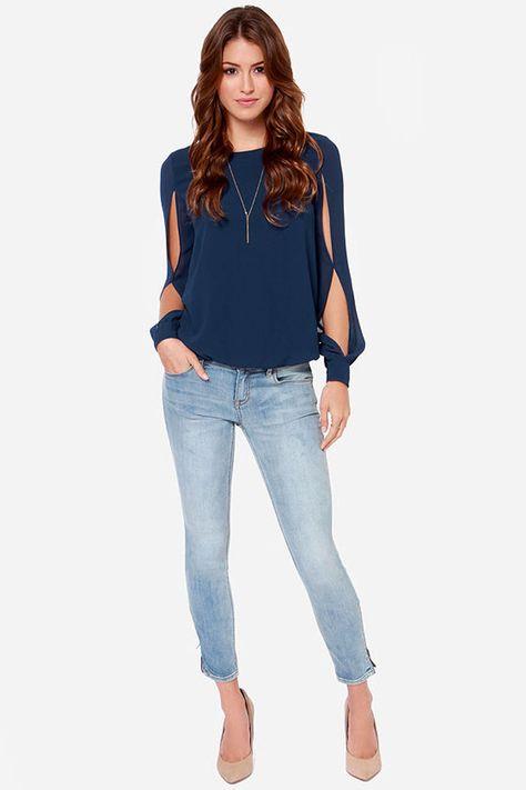 Блузки из шифона (72 фото)  красивые шифоновые блузки, с чем носить, модные  фасоны, модели, цвета 7fdd3151173