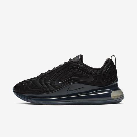 Nike Air Max 720 Men's Shoe (Black)   Nike air max, Nike air
