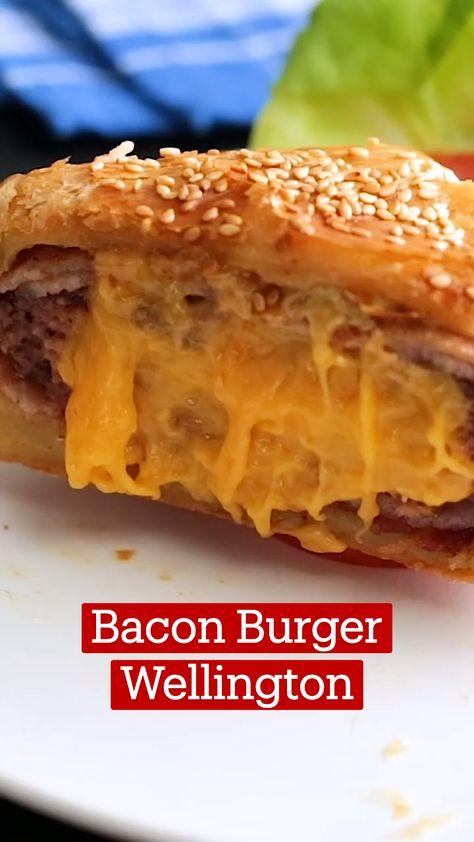 Bacon Burger Wellington