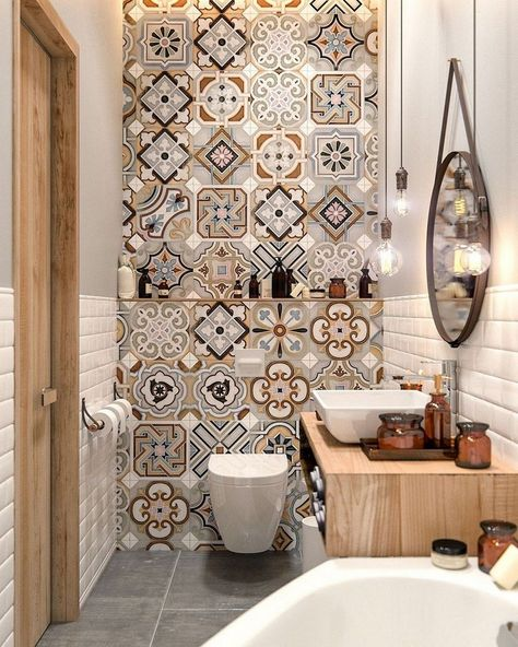 35+ Top Small Master Bathroom Decorating Ideas #bathroomdecor #bathrooms #bathroomdecorideas