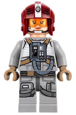 75188 Lego ® Minifig-Star Wars-sw864-Resistance Gunner Paige