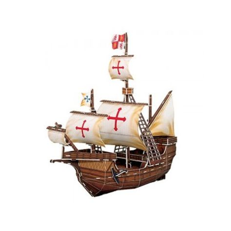 Paper Toy Scale Model Kit for Kids Adult - Columbus & Santa Maria Hoe