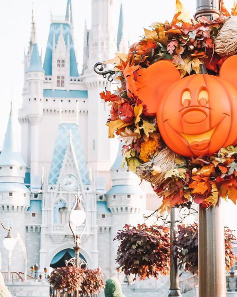 Castle Mickey Pumpkin Print