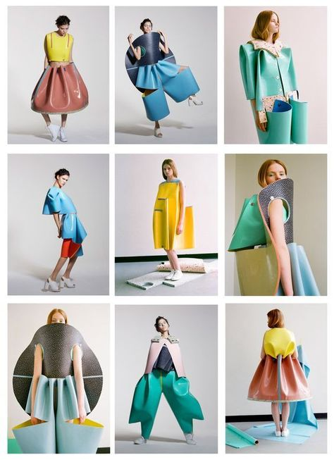 graduation clothes Valeska Valentina Jasso Collado University of Westminster Graduate Collection 2014