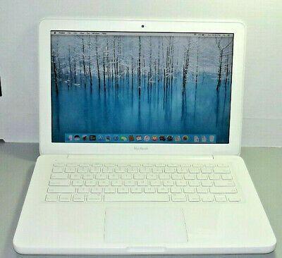 Apple Macbook White 13 2 4ghz 8gb Ram 1tb Hdd In 2020 Macbook White Apple Laptop Apple Macbook
