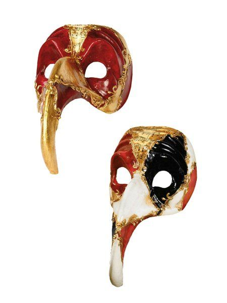 Bauta Neutro Venezianische Maske Maskenball Kleidung & Accessoires Masken & Augenmasken