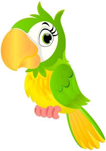 Parrot Cartoon Png Clip Art Image Tiere Malen Cartoon Kunst Frosch Zeichnen