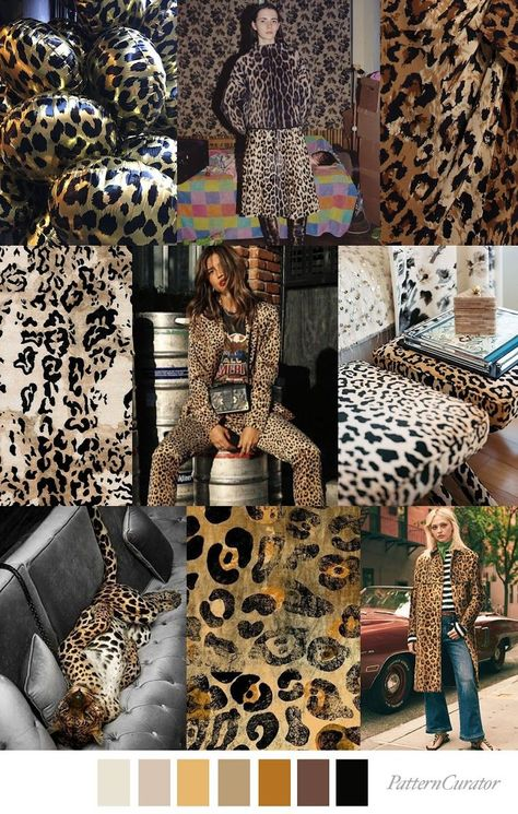 ANIMAL INSTINCT - color, print & pattern trend inspiration for FW 2019 by Pattern Curator. Pattern Curator is a trend service for color, print and pattern inspiration.