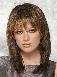List Of Pinterest Lon Hair With Bangs Over 40 Hairdos Ideas Lon