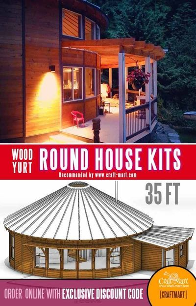 Round Houses 5 Reasons Why You Should Build One Craft Mart Round House Round House Plans Hurricane Proof House