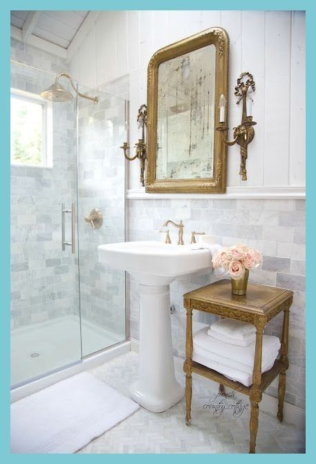 Tips To Paint And Decorate A Shabby Chic Bathroom In 2020