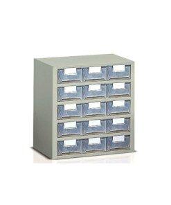 Cassettiere Plastica Per Minuterie.Cassettiera Porta Minuteria 15 Cassetti Plastica Traslucida