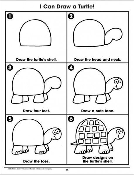 little kids draw