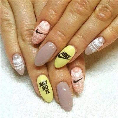 Nike Nails Art Nail Art Designs Fun Nails