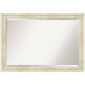 Amanti Art Country White Wash Frame Collection 40 25 In Distressed