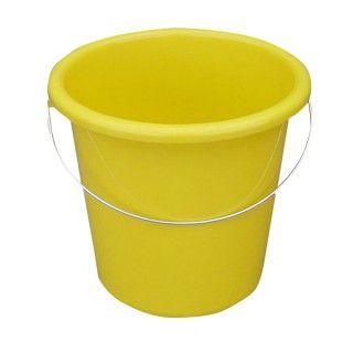 Plastikeimer Rund 5l Gelb Sauberkeit Haushalts Tipps