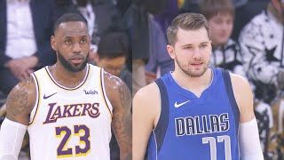 Los Angeles Lakers Vs Dallas Mavericks Full Game Highlights Dallas Mavericks December 30 2019 20 Nba Season 警告 視頻禁止轉載 警告 視頻禁 Lakers Vs Nba Season Lakers