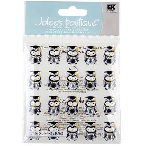 Jolee/'s GRADUATION OWL REPEATS 2 Boutique Stickers NEW