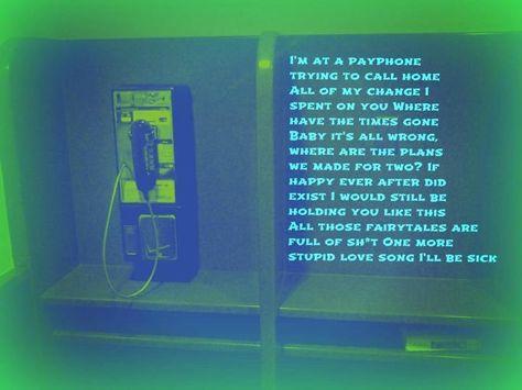 Pin By Sam Doehring On Lyrics Pay Phone Phone Landline Phone