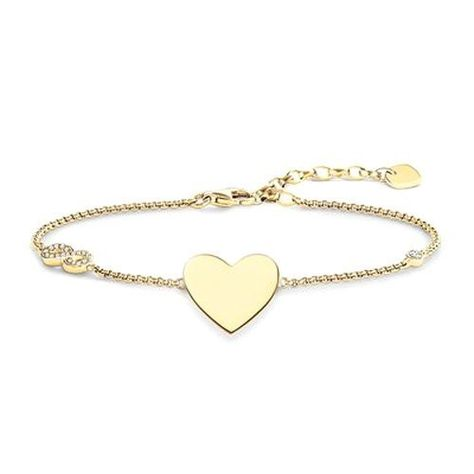 Thomas Sabo Armband Glam Soul Herz Mit Infinity 95 00 4 3 Von 5 Sternen Damen Armband Gold Armband Goldketten Gold