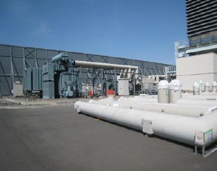 81 MW GE 6FA Gas Turbine, simple cycle, only 1000 hours of