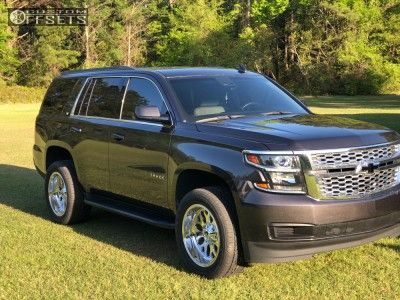 2015 Chevrolet Tahoe Fuel Titan Sumitomo Htr Sport Hp With Images