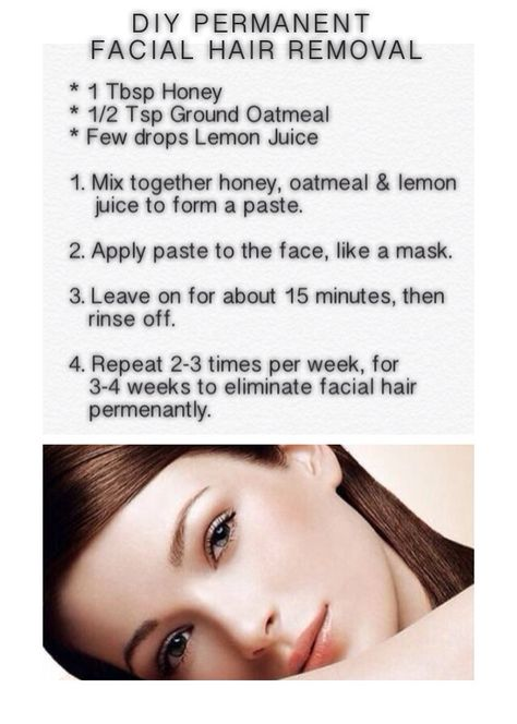 DIY PERMANENT HAIR REMOVAL