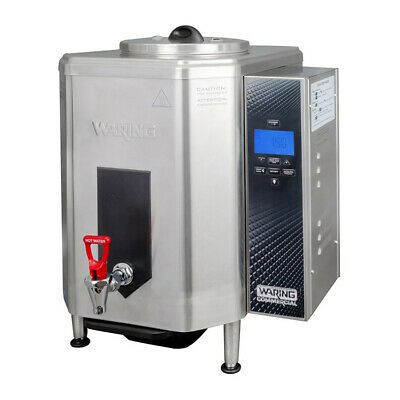Details About Waring Wwb10g 10 Gallon Hot Water Boiler Dispenser With Auto Refill 120v Water Boiler Hot Water Boiler