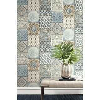 Overstock Com Online Shopping Bedding Furniture Electronics Jewelry Clothing More Moroccan Tile Peel And Stick Wallpaper Removable Wallpaper