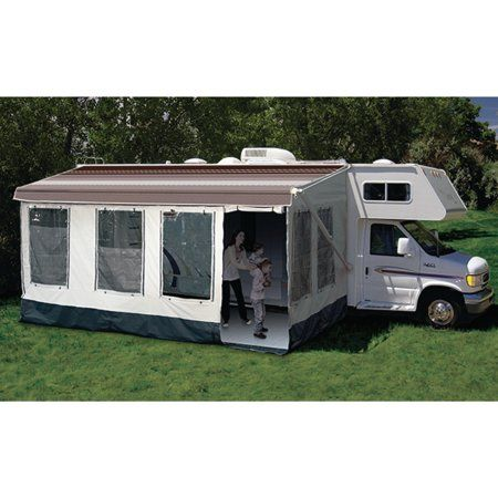 Carefree 211000a Buena Vista Rv Screen Room For Awning Size 10 Or 11 Walmart Com Rv Screen Rooms Rv Screen Recreational Vehicles