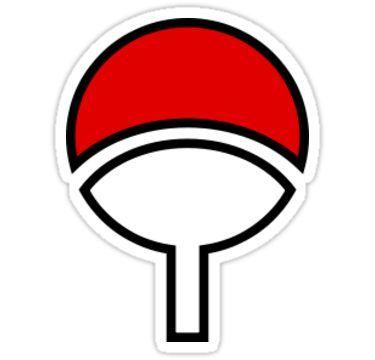Uchiha Symbol Sticker Adesivos Para Impressao Adesivos Adesivos Personalizados