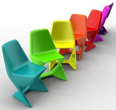 Chaises Iso de Qui est Paul? #Mobilier #Chaise #été ...
