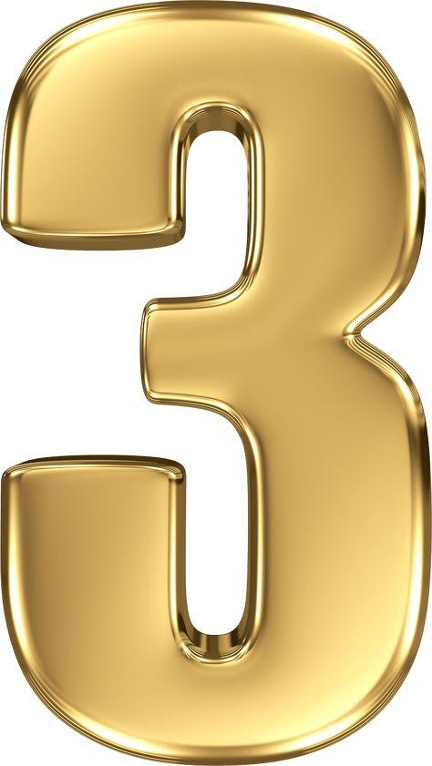 Número 3 Dorado