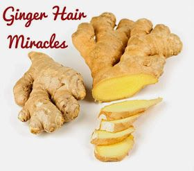 Ginger hair treatment