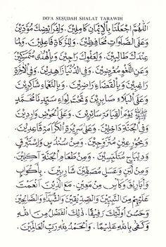 Doa Witir Setelah Sholat Tarawih : witir, setelah, sholat, tarawih, Setelah, Sholat, Tarawih, Witir, Kekuatan, Kutipan, Pelajaran, Hidup