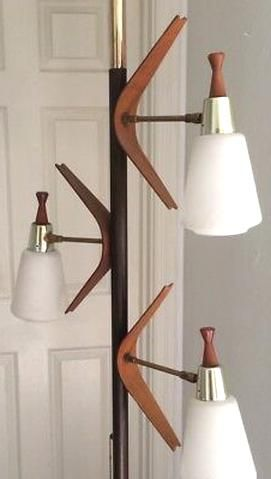 Tension pole lamp in 2020 | Pole lamps, Lamps for sale ...