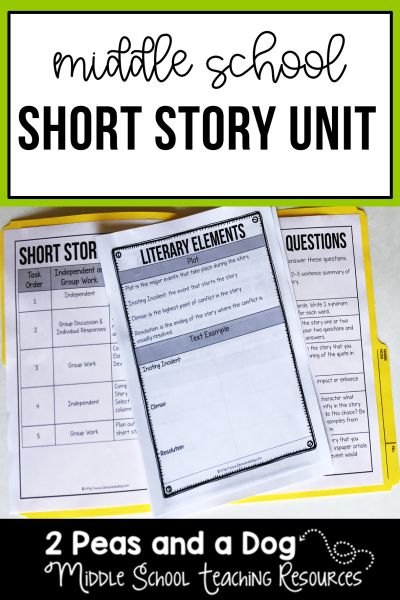 Short Story Unit Ruthless by Wiliam De Mille   classroom