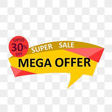 Super Sale Mega Offer 30 Off Banner Super Sale Banner Png Transparent Clipart Image And Psd File For Free Download Promotional Products Marketing Super Sale Sale Banner