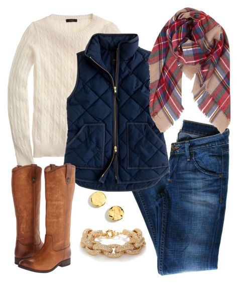 winter outfits layered Karohemd adrette Outfits adrette adrette Kleidung J.Crew Winteroutfits w Latest Fashion Trends Navy Vest Outfit, Plaid Scarf Outfit, Puffer Vest Outfit, Scarf Shirt, Shirt Outfit, Vest Outfits For Women, J Crew Outfits, Adrette Outfits, Fall Outfits