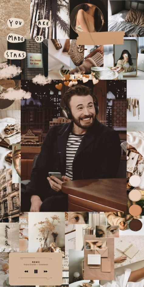 Wallpaper with Chris Evans