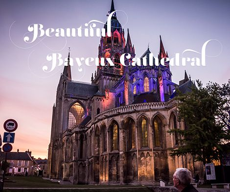 "This beautiful venue, the Bayeux Cathedral in France, is a ""must-perform""!"