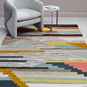 Pixel Steps Rug Rugs Woven Rug Rugs On Carpet
