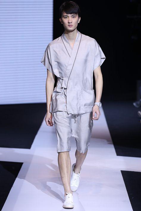 Silk Kimono Suit - medium