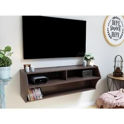 Tv Stand Wall Mounted Living Room Furniture Storage In 2020 Prepac Storage Furniture Living Room Entertainment Center